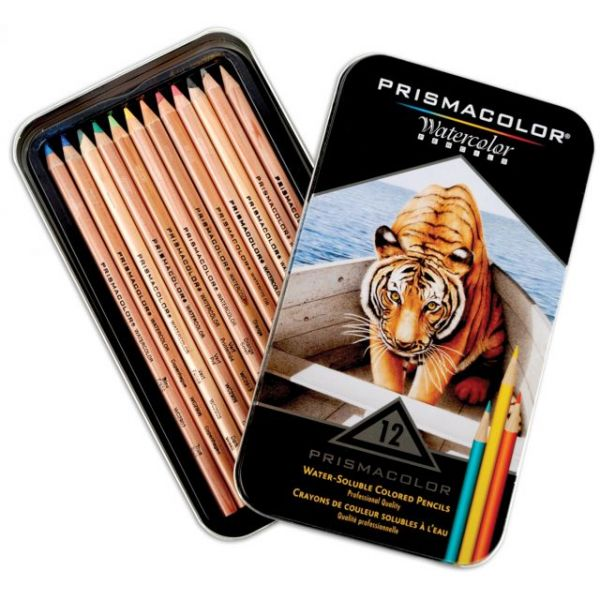 Prismacolor Watercolor Pencils 12/Pkg
