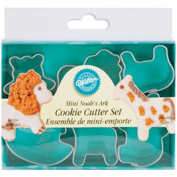 Mini Metal Cookie Cutter Set 6/Pkg