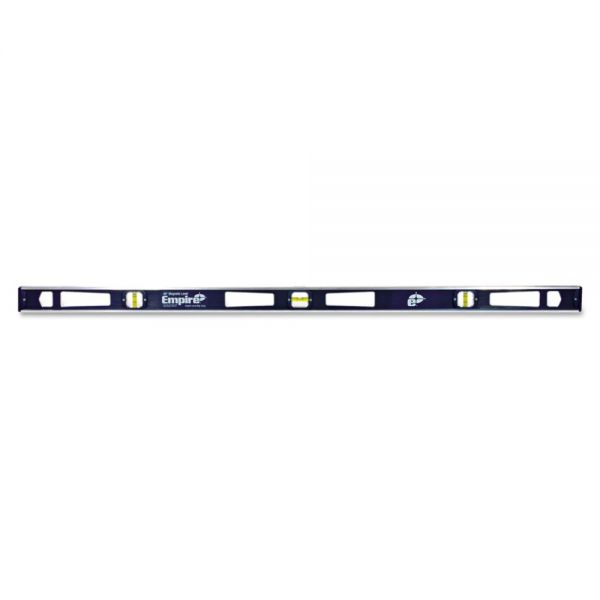 "Empire 581 Series Magnetic I-Beam Level, 48"" Long, Aluminum, Tri-Vial"
