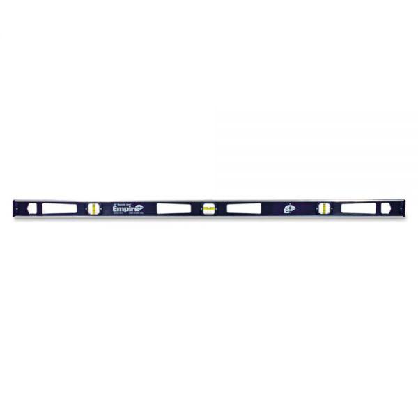 "Empire 581 Series Magnetic I-Beam Level, 48"" Long, Aluminum, Tri-Vial"