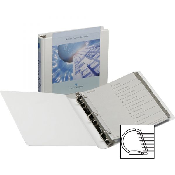 "Samsill DXL 2"" 3-Ring View Binder"