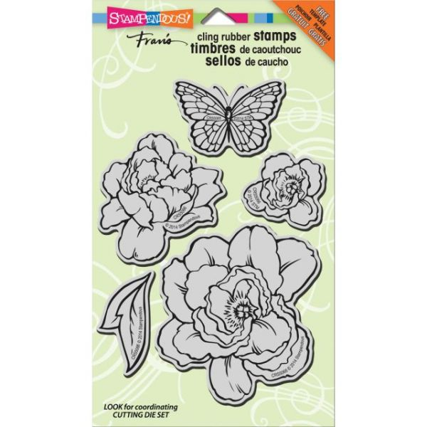 "Stampendous Cling Rubber Stamp 7""X5"" Sheet"