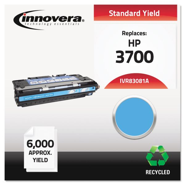 Innovera 83081A (Q2681A) Remanufactured Toner Cartridge, 4000 Page-Yield, Cyan