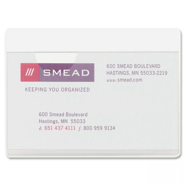 Smead Self-Adhesive Vinyl Pockets