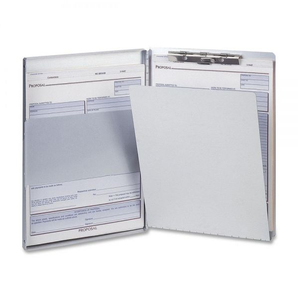 OIC Side Loading Aluminum Storage Clipboard