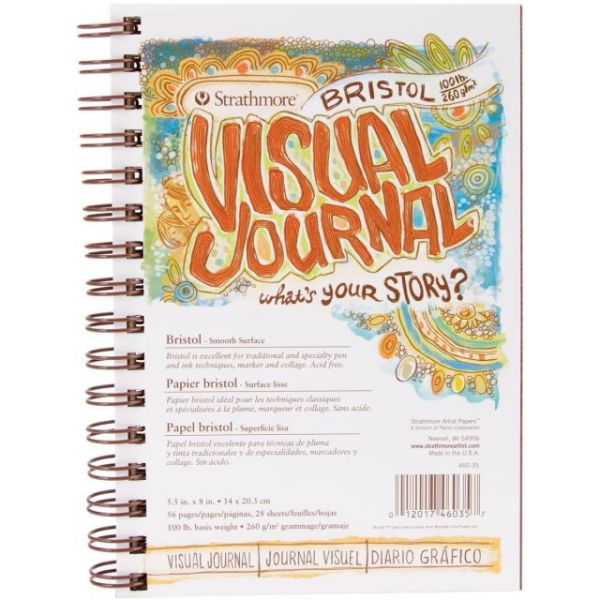 Strathmore Acid Free Bristol Smooth Visual Journal