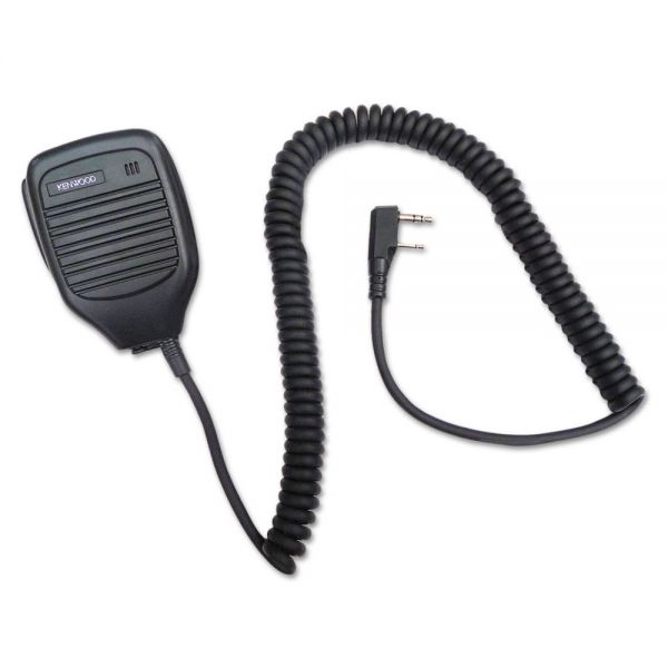Kenwood External Speaker Microphone For TK Series Two-Way Radios, Black