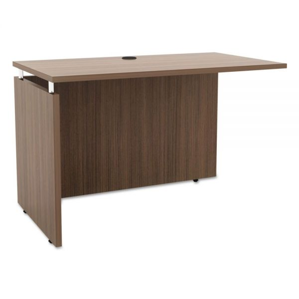 Alera Alera Sedina Series Reversible Return/Bridge, 42w x 23 5/8d x 29 1/2h,  Walnut
