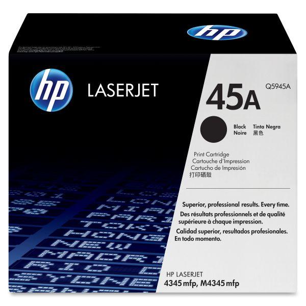 HP 45A Black Toner Cartridge (Q5945A)