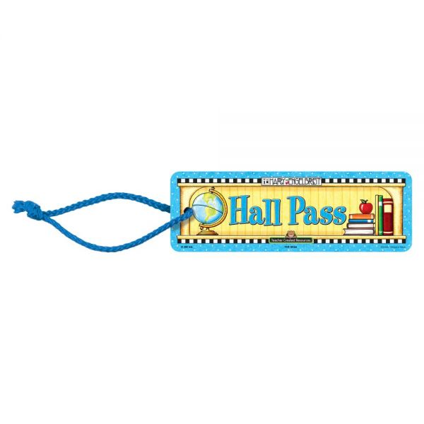 Teacher Created Resources Student Hall Pass