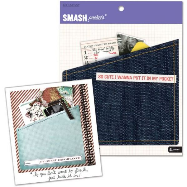 SMASH Pockets 4/Pkg