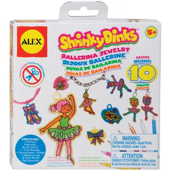 Shrinky Dinks Ballerina Jewelry Kit