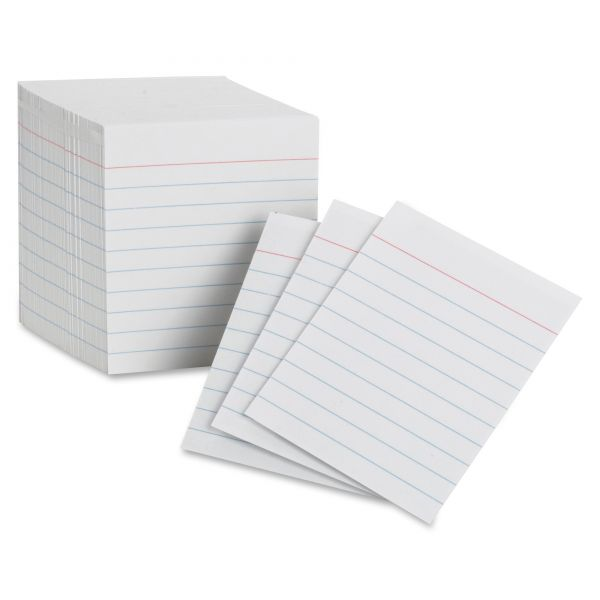 Oxford Ruled Mini Index Cards