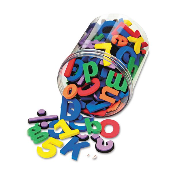 Chenille Kraft Wonderfoam Magnetic Alphabet Letters, Assorted Colors. 105/Pack