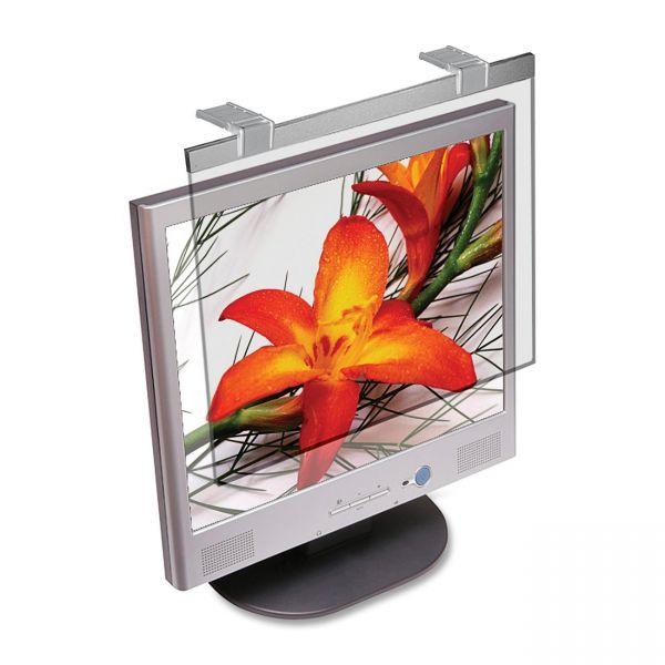 "Kantek Non-Glare Filter/Screen Protector for 20"" LCD Screens, Silver"