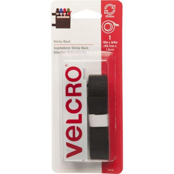 """VELCRO(R) Brand STICKY BACK Tape 3/4""""X18"""""""