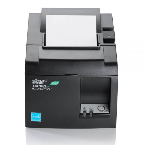Star Micronics futurePRNT TSP143IIILAN WT US Direct Thermal Printer - Monochrome - Desktop - Receipt Print