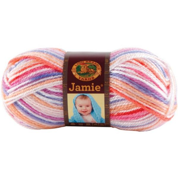 Lion Brand Jamie Yarn - Summer Stripes