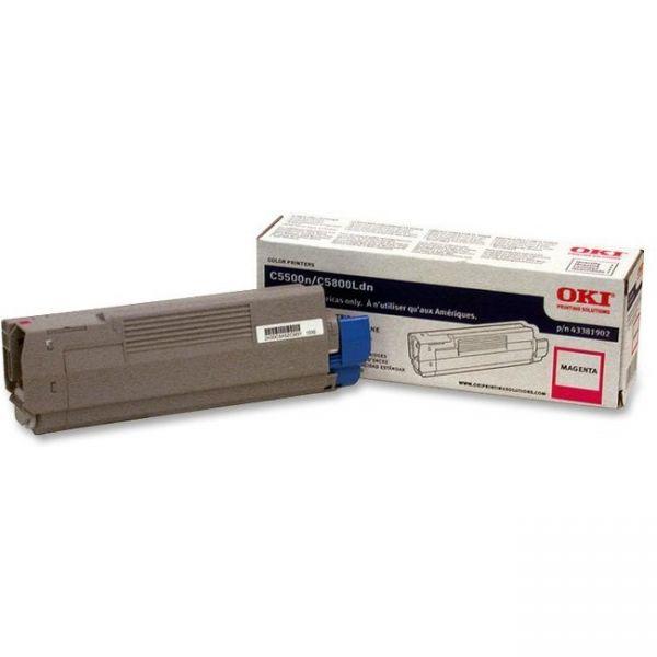 Oki 43381902 Magenta Toner Cartridge