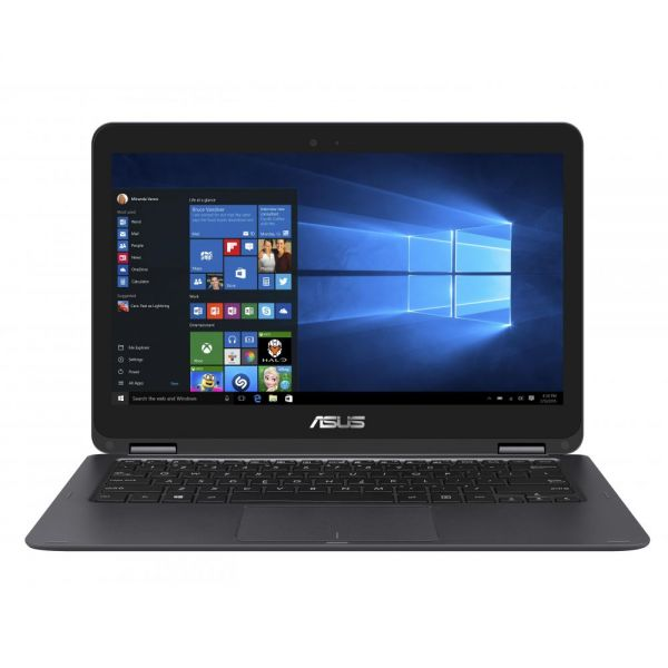 "Asus ZenBook Flip UX360CA-DBM2T 13.3"" Touchscreen 2 in 1 Notebook - Intel Core M (6th Gen) m3-6Y30 Dual-core (2 Core) 900 MHz - Convertible - Gray"