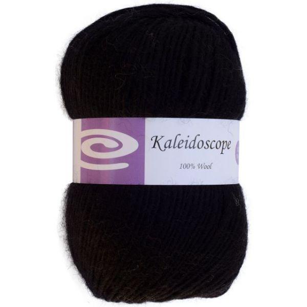 Elegant Kaleidoscope Yarn - Charcoal Black
