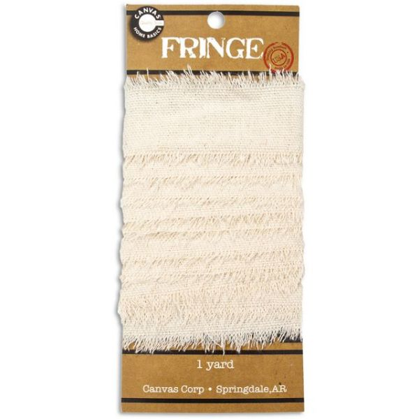 Canvas Fringe 1yd
