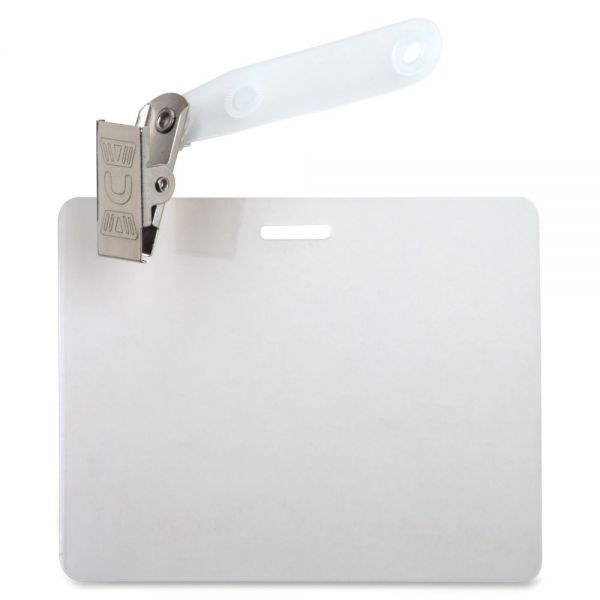 Business Source ID Badge Laminating Pouches