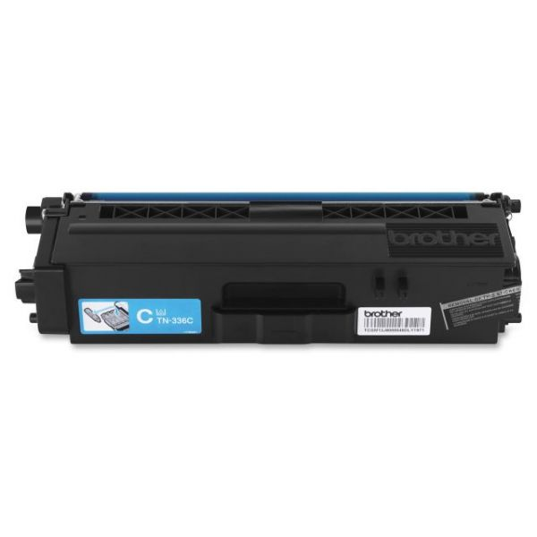 Brother TN336C High Yield Cyan Toner Cartridge