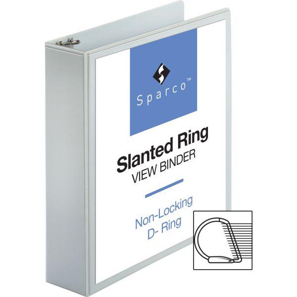 "Sparco 2"" 3-Ring View Binder"