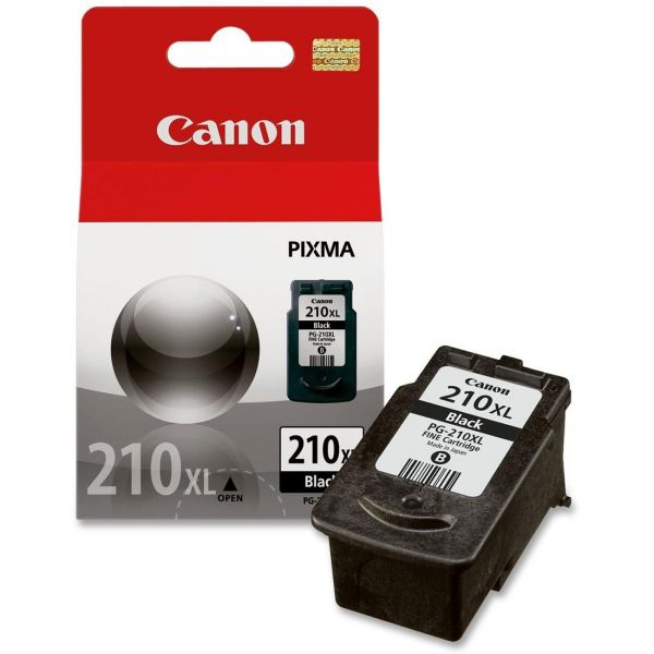 Canon PG-210XL High Yield Black Ink Cartridge (2973B001)
