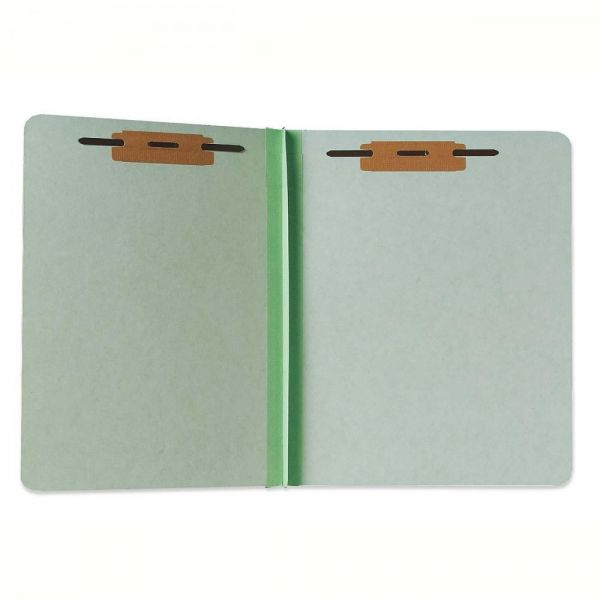 SKILCRAFT Heavy-Duty Pressboard File Folders With Fasteners