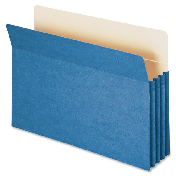 Smead 74225 Blue Colored Expanding File Pocket