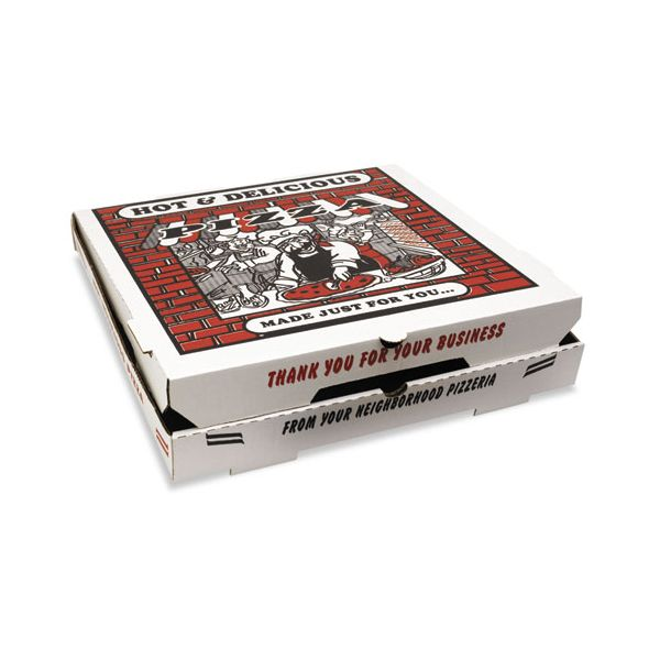 "Takeout 18"" Pizza Boxes"