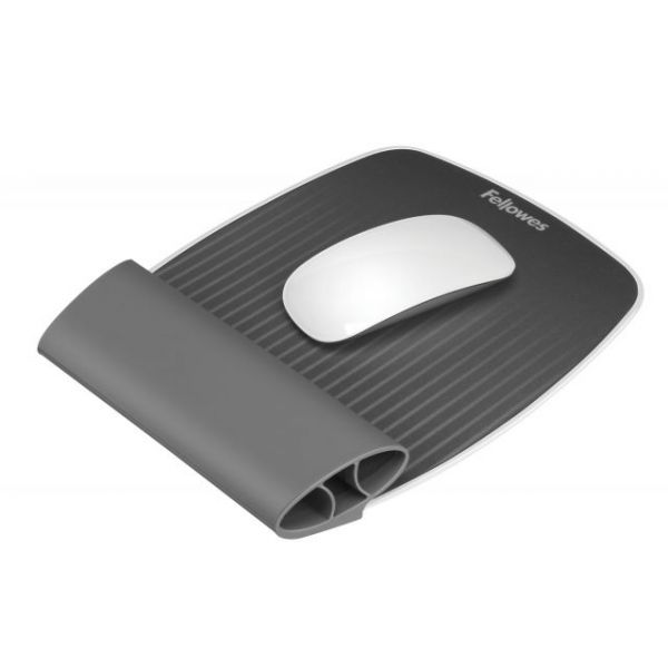 Fellowes Mouse Pad With Wrist Rocker Wrist Rest