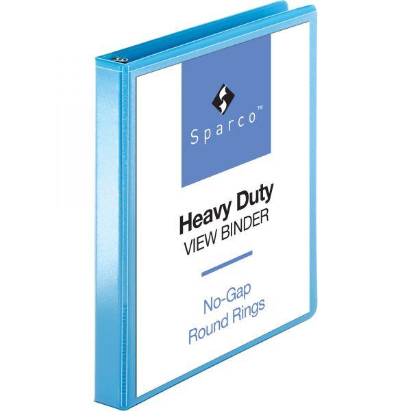 """Sparco Premium 1"""" 3-Ring View Binder"""