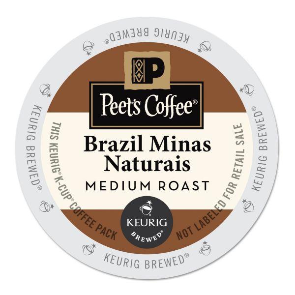 Peet's Coffee Brazil Minas Naturais K-Cups