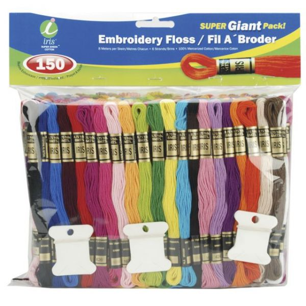 Embroidery Floss Super Giant Pack