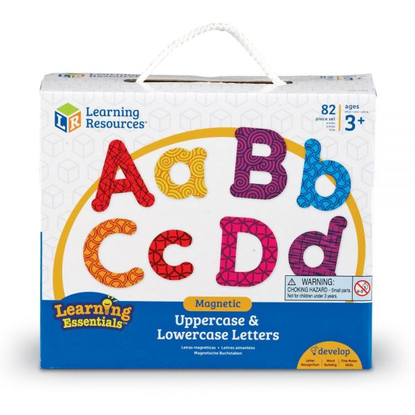 Learning Resources Uppercase/Lowercase Magnetic Letters