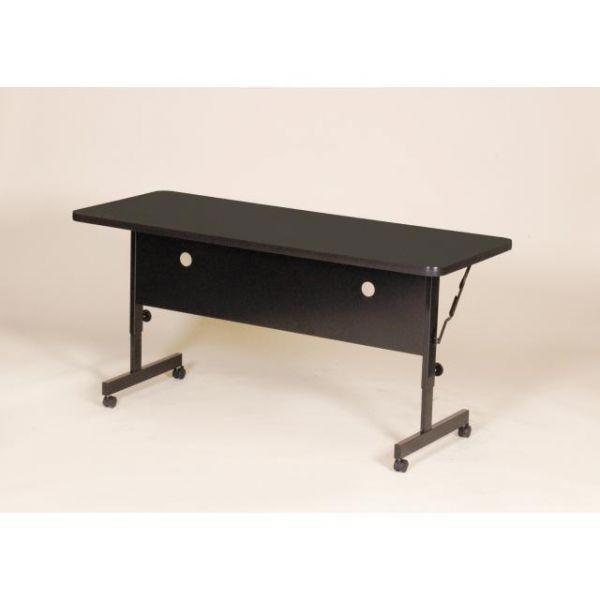 Correll Deluxe Adjustable Height Flip Top Table