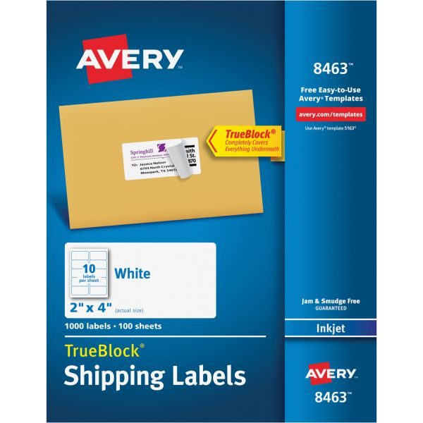 Avery Shipping Labels