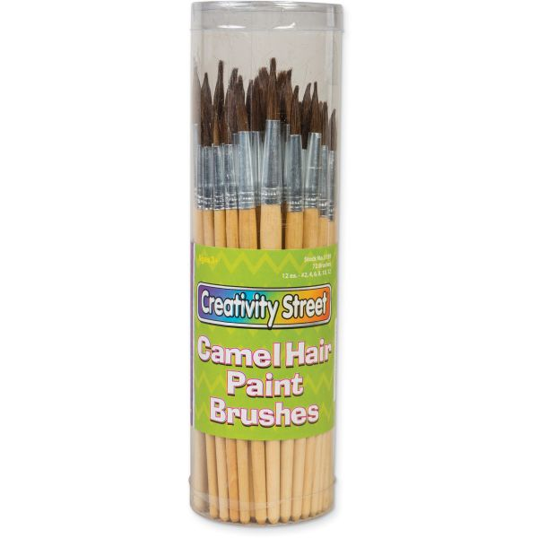 ChenilleKraft Camel Hair Paint Brushes