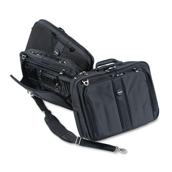 """Kensington Contour Pro 17"""" Laptop Carrying Case, Nylon, 17 1/2 x 8 1/2 x 13, Black"""