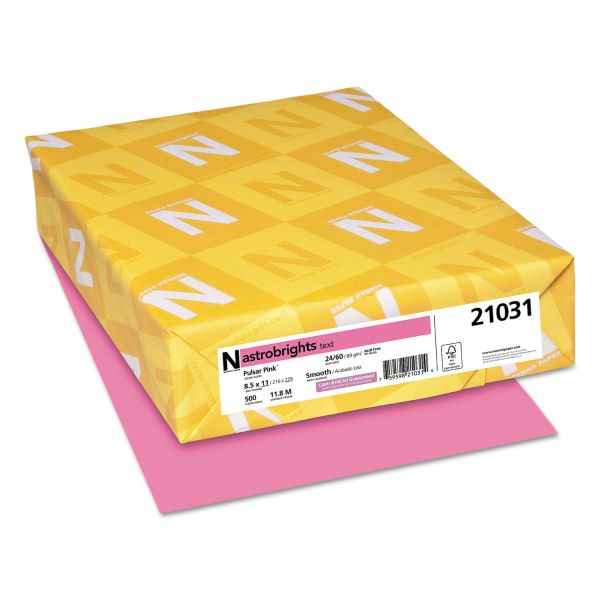 AstroBrights Colored Paper - Pulsar Pink