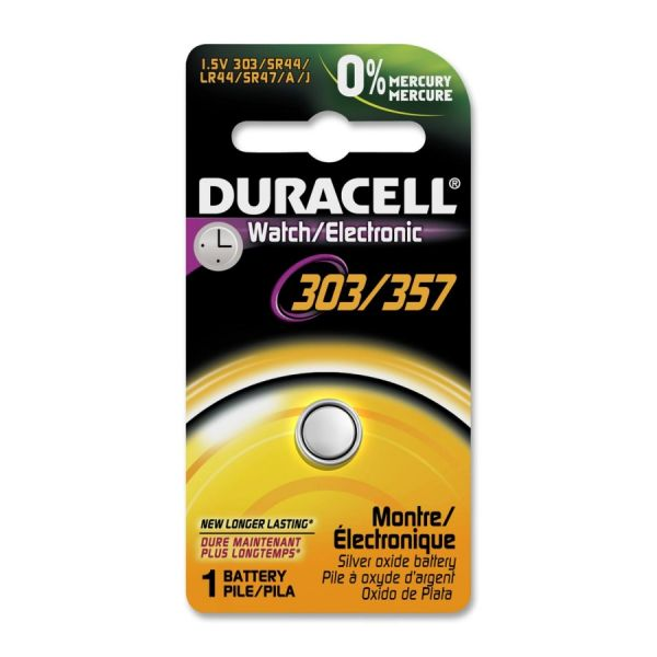 Duracell Watch/Electronic 303/357 Battery