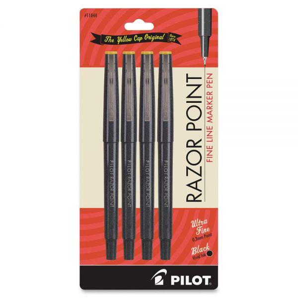 Pilot Fineliner Marker Pens