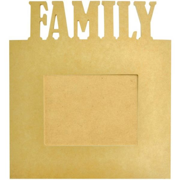 Beyond The Page MDF Family Frame