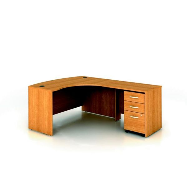 bbf Series C Professional Configuration - Light Oak finish by Bush Furniture