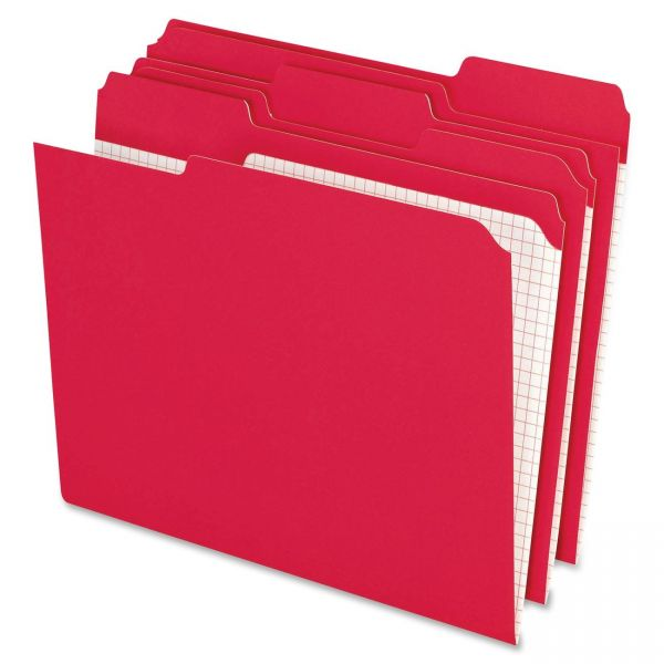 Pendaflex Red Colored File Folders