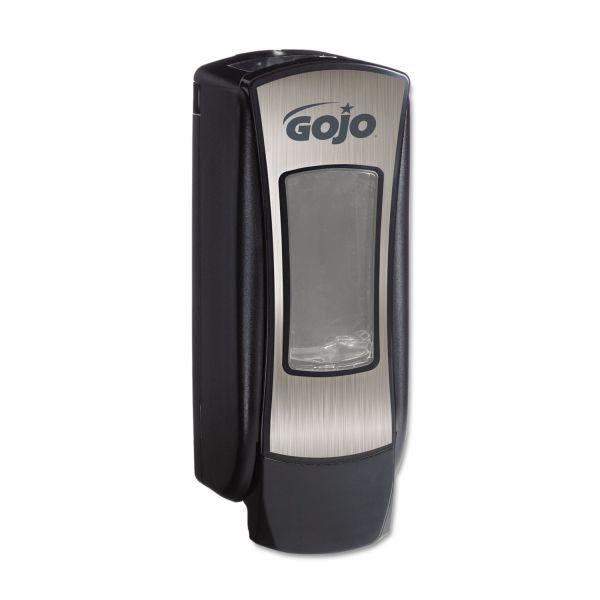 GOJO ADX-12 Dispenser, 1250mL, Brushed Chrome/Black
