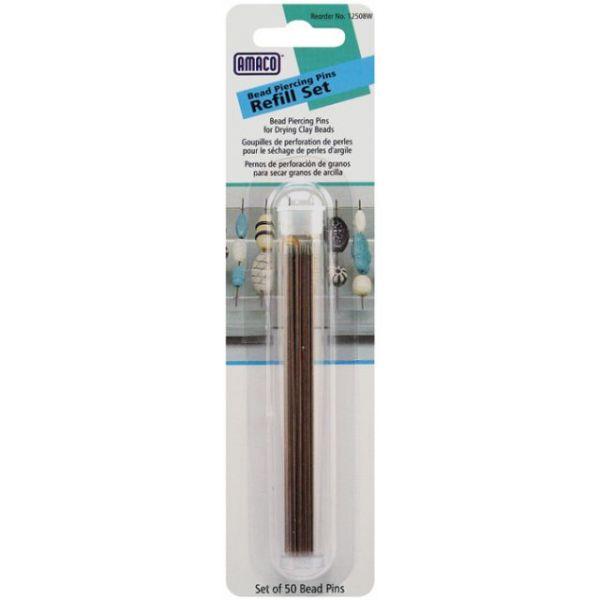 Bead Piercing Pins Refill 50/Pkg